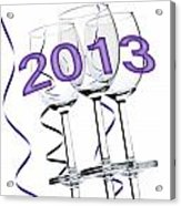 New Year 2013 Acrylic Print by Blink Images