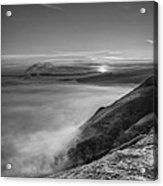 Peak District Sunrise Acrylic Print by Andy Astbury