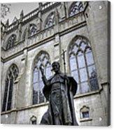 Pope John Paul I I Acrylic Print by David Bearden