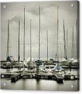 Port On A Rainy Day Acrylic Print by Joana Kruse