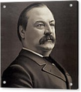 President Grover Cleveland Acrylic Print by International  Images