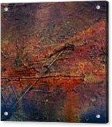 Raging Rapids Acrylic Print by Jerry Cordeiro