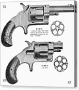 Revolvers, 19th Century Acrylic Print by Granger