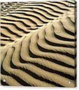 Rippled Sand Dunes Acrylic Print by Tek Image