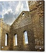 Ruins Of A Church In South Glengarry Acrylic Print by Sandra Cunningham