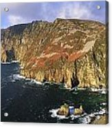 Slieve League, Co Donegal, Ireland Acrylic Print by The Irish Image Collection