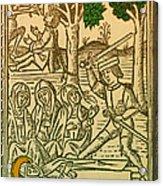 St. Catherine, Italian Philosopher Acrylic Print by Science Source