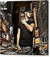 Street Phenomenon Drake Acrylic Print by The DigArtisT