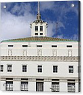 Supreme Court Of California . County Of Alameda . Oakland California View From Oakland Museum . 7d13 Acrylic Print by Wingsdomain Art and Photography