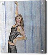 Taylor's Haunting Acrylic Print by Jana Barros