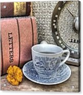 Tea Time Acrylic Print by Jane Linders