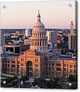Texas State Capitol Acrylic Print by Jeremy Woodhouse