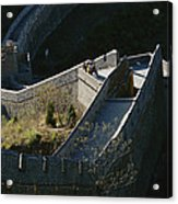 The Simatai Section Of The Great Wall Acrylic Print by Raymond Gehman