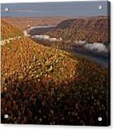 The Tennessee River Cuts Through Signal Acrylic Print by Stephen Alvarez