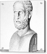 Theophrastus Acrylic Print by Granger