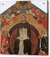 Thomas Aquinas, Italian Philosopher Acrylic Print by Photo Researchers