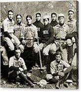 Yale Baseball Team, 1901 Acrylic Print by Granger