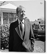 Jimmy Carter (1924- ) Acrylic Print by Granger