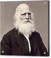 William Cullen Bryant Acrylic Print by Granger