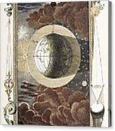 1731 Johann Scheuchzer Creation 4th Day B Acrylic Print by Paul D Stewart