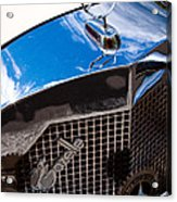 1929 Mercedes Ssk Gazelle Roadster Acrylic Print by David Patterson