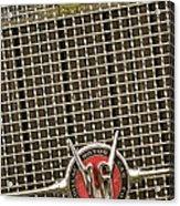 1930 Cadillac 452 Fleetwood Grille Emblem Acrylic Print by Jill Reger