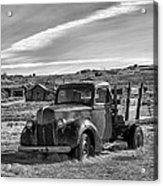 1939 Ford Truck Bodie Ca Acrylic Print by Troy Montemayor