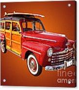 1947 Woody Acrylic Print by Jim Carrell