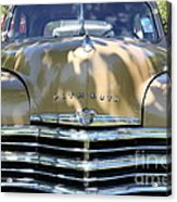 1949 Plymouth Delux Sedan . 5d16205 Acrylic Print by Wingsdomain Art and Photography