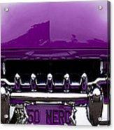 1950 Mercury Acrylic Print by David Patterson
