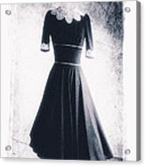 1950s Dress Acrylic Print by David Ridley