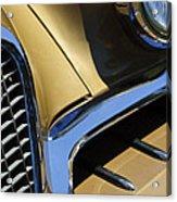 1957 Studebaker Golden Hawk Hardtop Grille Emblem Acrylic Print by Jill Reger