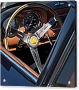 1963 Apollo Steering Wheel     Acrylic Print by Jill Reger