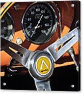 1963 Apollo Steering Wheel 2 Acrylic Print by Jill Reger