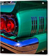 1966 Ford Thunderbird Acrylic Print by David Patterson