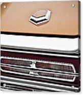 1966 Ford Thunderbird Acrylic Print by Gordon Dean II