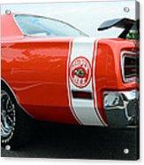 1970 Dodge Super Bee 2 Acrylic Print by Paul Ward
