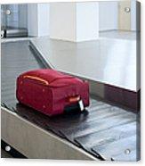 Airport Baggage Claim Acrylic Print by Jaak Nilson