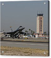 An F-16 Fighting Falcon Takes Acrylic Print by HIGH-G Productions