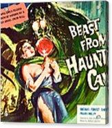 Beast From Haunted Cave, Sheila Carol Acrylic Print by Everett