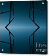 Blue Reflection Acrylic Print by Odon Czintos