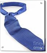 Blue Tie Acrylic Print by Blink Images