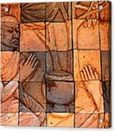 Buddha Image  Acrylic Print by Panyanon Hankhampa