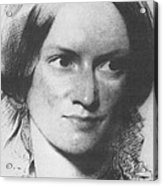 Charlotte Bronte, English Author Acrylic Print by Science Source