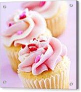 Cupcakes Acrylic Print by Elena Elisseeva