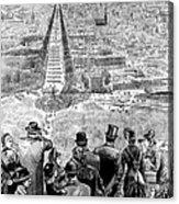 Garfield Inauguration, 1881 Acrylic Print by Granger