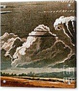 German Cloud Atlas, 1819 Acrylic Print by Science Source