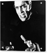 Horror Of Dracula, Christopher Lee, 1958 Acrylic Print by Everett