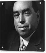 Irvin S. Cobb 1876-1944, American Acrylic Print by Everett