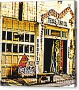 Junk Company Acrylic Print by Scott Pellegrin